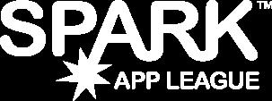 SPARK App League Logo - White